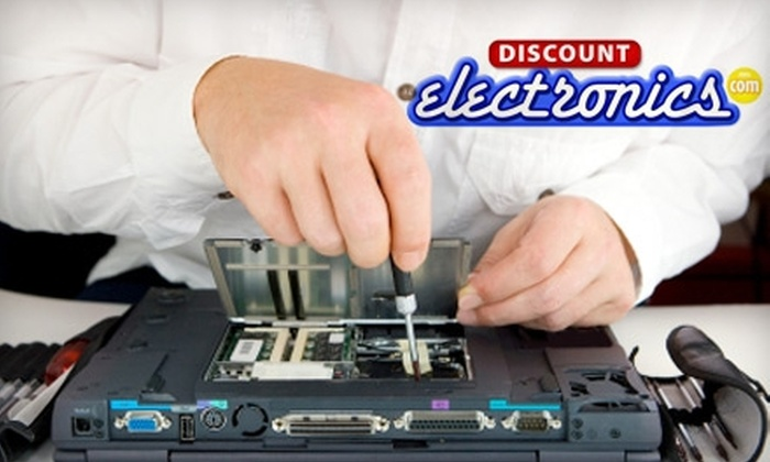 Discount Electronics - Multiple Locations: $50 for $100 Worth of PC Repair Services at Discount Electronics