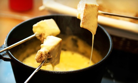 $30 Groupon to Mona Lisa Gourmet Cafe and Fondue - The Mona Lisa Fondue Restaurant in Manitou Springs