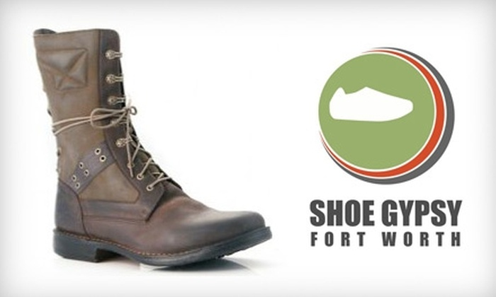 Shoe Gypsy - Park Hill: $25 for $50 Worth of Shoes and Apparel at Shoe Gypsy