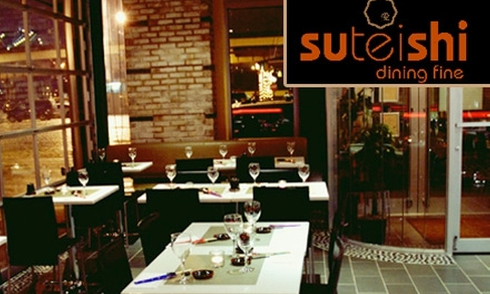 SUteiShi - Financial District: $25 for $50 Worth of Sushi, Specialty Rolls, and More at SUteiShi