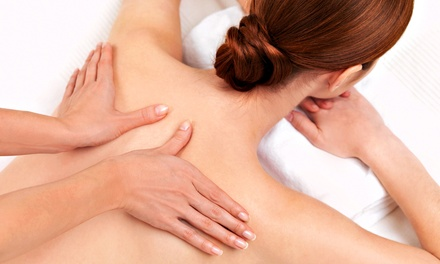 One or Three 60-Minute Custom Massages or One 90-Minute Custom Massage at Lastarr Massage (Up to 58% Off)