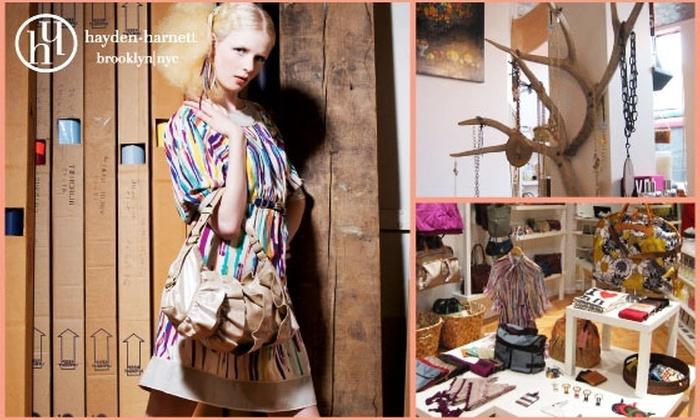 Hayden-Harnett - Chicago: Today's Deal for Hannah's Bretzel is Sold Out. Take Advantage of This Deal: $75 for $175 Worth of Designer Handbags & More at Hayden-Harnett Online