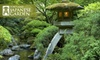 $9 for Two Japanese-Garden Admissions