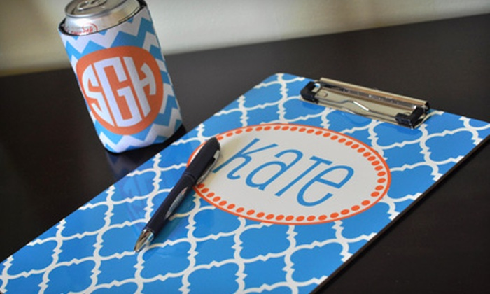 Boutique Me: $15 for $30 Worth of Monogrammed Gifts from Boutique Me