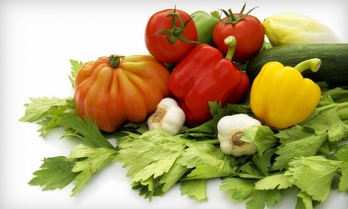 Betty's Organics - Novato: $14 for One Box of Organic Produce Including Delivery from Betty's Organics ($28 Value)