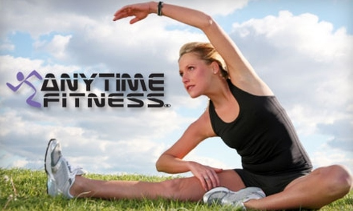 Anytime Fitness Kitchener Waterloo - Multiple Locations: $30 for 30 Days of Fitness & Tanning Including an Electronic Key and No Registration Fee at Anytime Fitness ($195 Value)