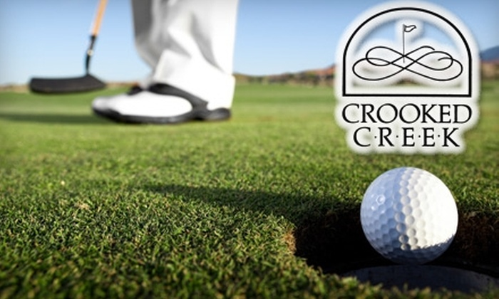 Crooked Creek Golf Club - Crooked Creek South: 18 Holes of Golf Including Golf Cart at Crooked Creek Golf Club. Choose from Two Options.