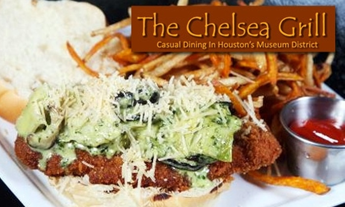 The Chelsea Grill - The Museum District: $10 for $20 Worth of American Cuisine at The Chelsea Grill