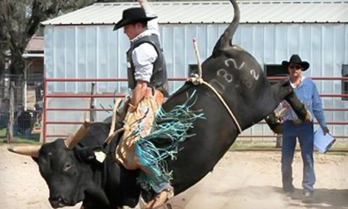 BR Lightning Ranch - Pipe Creek: Two Tickets to BR Lightning Ranch Rodeo in Pipe Creek. 11 Dates Available.