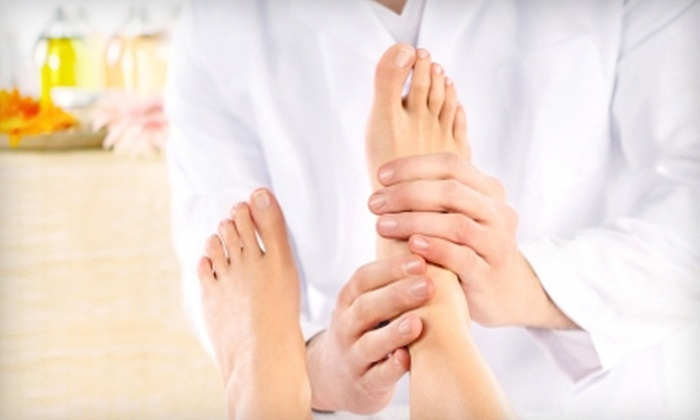 Medi Massage - Lakewood: $18 for 30-Minute Ionic Foot Bath With a Foot and Calf Massage at Medi Massage in Lakewood ($50 Value)