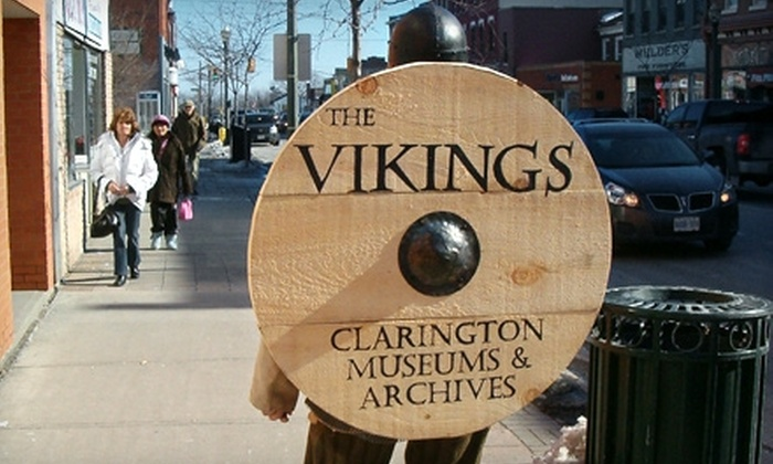 "Sarah Jane Williams Heritage Centre - Bowmanville: $10 for a Family Admission to ""The Vikings"" Exhibit at Sarah Jane Williams Heritage Centre in Bowmanville ($20 Value)"