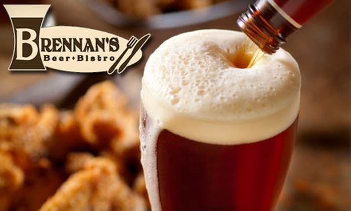 Brennan's Beer & Bistro - Central London: $15 for $30 Worth of Lunch and Dinner or $10 for $20 Worth of Brunch at Brennan's Beer & Bistro