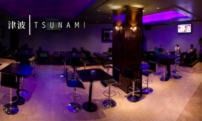 Tsunami's - Makiki - Lower Punchbowl - Tantalu: $10 for $20 of Contemporary Asian-Fusion Fare and Drinks at Tsunami's