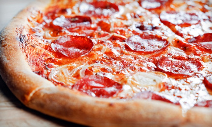 Taylor Made Pizza - University Village / Little Italy: $10 for $20 Worth of Pizza, Pasta, and Sandwiches at Taylor Made Pizza