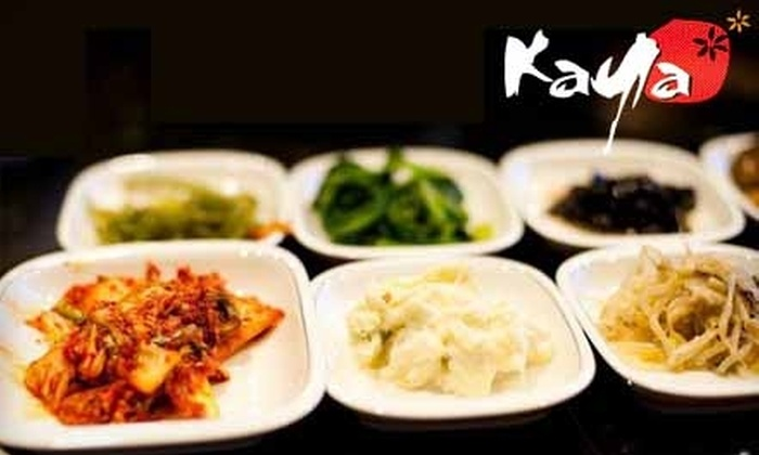 Kaya Korean Barbecue & Grill - Shoreline: $35 for $70 Worth of Authentic Korean Cuisine and Drinks at Kaya Korean Barbecue in Shoreline