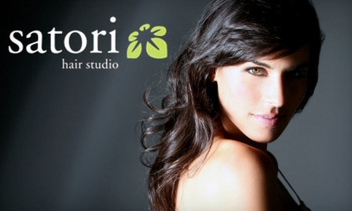 Satori Hair Studio - Cathedral: $20 for Haircut and Style (Up to $47 Value) or $50 for Highlights (Up to $100 Value) at Satori Hair Studio