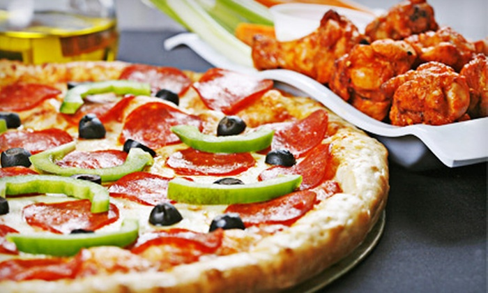 The Pizza Kitchen - Yardville: Pizza Package with One or Two Large Pizzas, Appetizer, and 2-Liter Soda at The Pizza Kitchen in Yardville (Up to 58% Off)