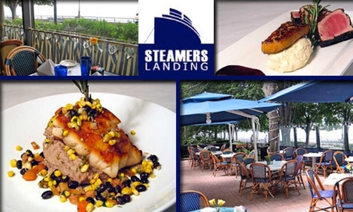 Steamers Landing - New York City: $25 for $50 Worth of Seafood and Other American Cuisine at Steamers Landing