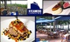 Merchants River House - New York City: $25 for $50 Worth of Seafood and Other American Cuisine at Steamers Landing