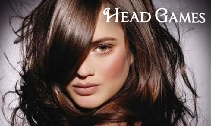 Head Games - Halfmoon: $25 for $50 Worth of Haircare and Waxing Services at Head Games