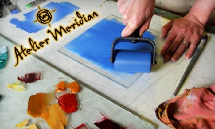 Atelier Meridian - Eliot: $50 for $125 Toward Any Print-Making Workshop at Atelier Meridian