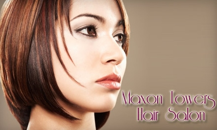 Maxon Towers Hair Salon - Squirrel Hill North: Hair Services at Maxon Towers Hair Salon. Choose Between Two Options.