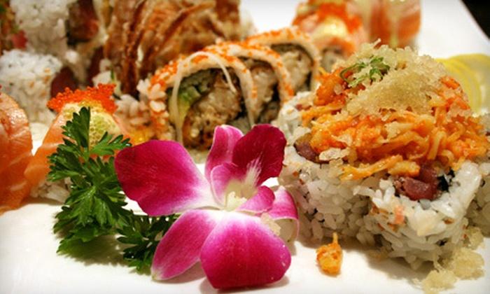 Sakura - Attleboro: Sushi, Hibachi, and Chinese Fare for Two or Four at Sakura in Attleboro (Up to 55% Off)