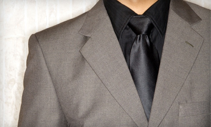 Bespoke Fit - Clinton: $699 for Custom-Tailored Bespoke Suit and Two Years of Alterations at Bespoke Fit ($1,695 Value). Include Two Custom Dress Shirts for $799 ($1,995 Total Value)