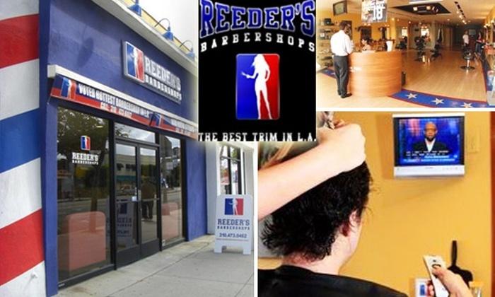 Reeders Barbershop - West Los Angeles: $20 for a $50 MVP Haircut at Reeder's Barbershop