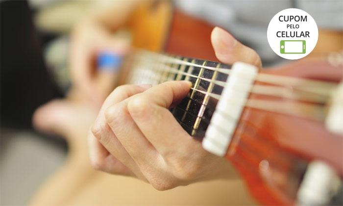 Academia de Música de Brasília – Asa Norte: 1 mês de aula teórica e prática individual ou em grupo + matrícula