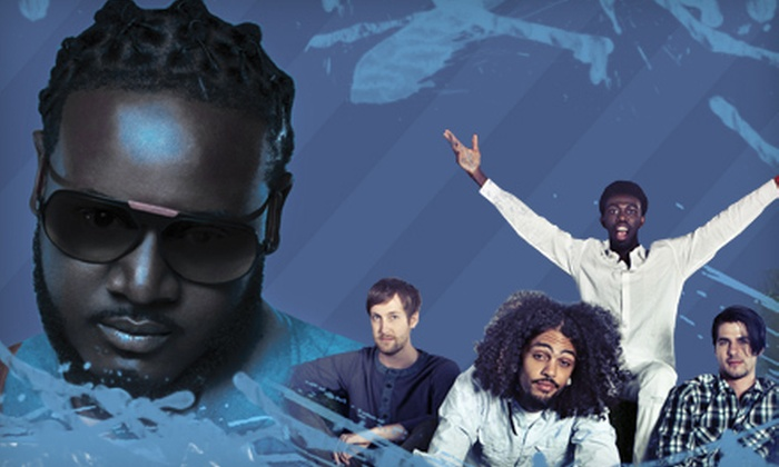 Snowstorm Music Tour 2012 - NIU Convocation Center: One Ticket to the Snowstorm Music Tour 2012 with T-Pain at NIU Convocation Center on February 10 (Up to $37.90 Value)