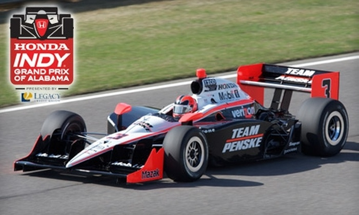 Honda Indy Grand Prix of Alabama - Leeds: $55 for Two Sunday General Admission Tickets to Honda Indy Grand Prix of Alabama ($110 Value)
