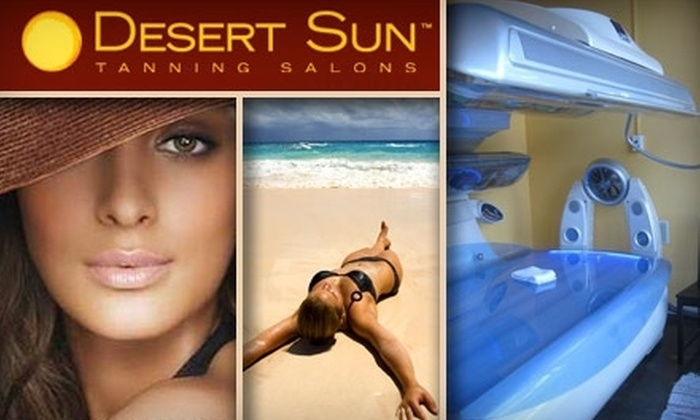 Desert Sun Tanning Salon - Pacific Beach: $29 for One Month of Unlimited Tanning Services at Desert Sun Tanning Salon