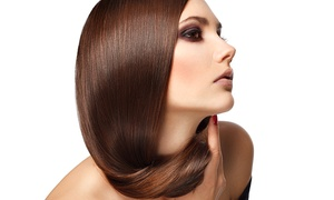Salon 100: Brazilian Keratin Treatment With Wash and Cut for £49 at Salon 100 (Up to 47% Off)