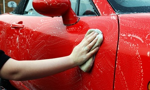 Harv's Car Wash: One or Two Hand Waxes with Wash and Interior Dressing at Harv's Car Wash (Up to 55% Off)