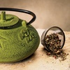 Old Dutch Unity Sakura 37oz. Cast-Iron Teapot