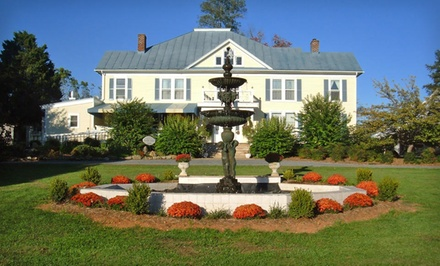 Two-Night Stay with Daily Breakfast, Wine, and Chocolates at The Mark Addy Inn in Nellysford, VA from The Mark Addy Inn -