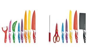 7 coltelli colorati antiaderenti