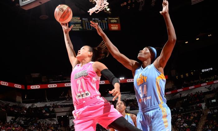 San Antonio Stars - AT&T Center: San Antonio Stars WNBA Game at Freeman Coliseum on Saturday, August 8, at 7 p.m. (Up to 66% Off)