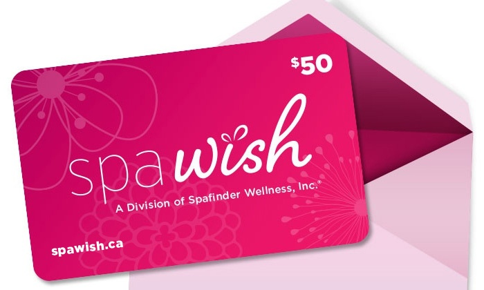 SpaWish: One, Two, or Four $50 Spa or Salon eGift Cards from SpaWish (Up to 38% Off)