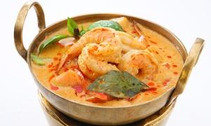 Restauracja Nameste Nepal: Wybrane danie z krewetkami (44,99 zł) z zupą dla 2 osób (69,99 zł) i więcej opcji w Restauracji Nameste Nepal(do -37%)
