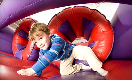 5 or 15 Open-Bounce Visits at BounceU (Up to 59% Off)
