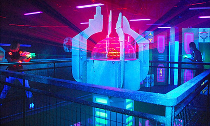 Laser Legend - Judson: $16 for Four Games of Laser Tag at Laser Legend (Up to $32 Value)