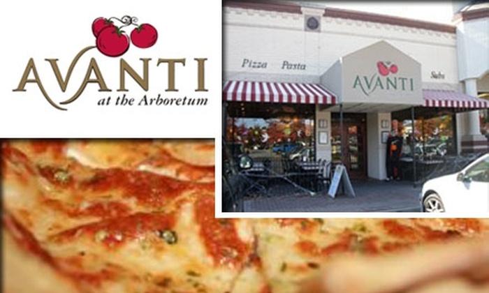Avanti at the Arboretum  - Rain Tree: $10 for $20 Worth of Pizza and Pasta at Avanti at the Arboretum