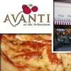 Half Off Pizza and Pasta at Avanti
