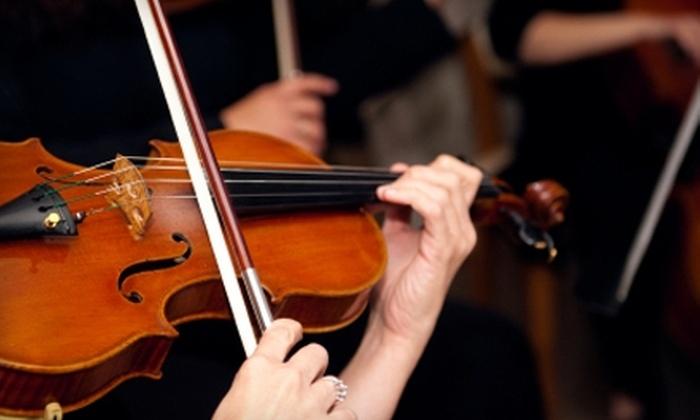 Abilene Philharmonic Orchestra - Original Town North: Half Off Season Passes to Abilene Philharmonic Orchestra. Six Options Available.