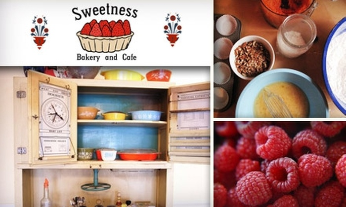 Sweetness Bakery and Cafe - Foster - Powell: $7 for $15 Worth of Cupcakes and More at Sweetness Bakery and Cafe