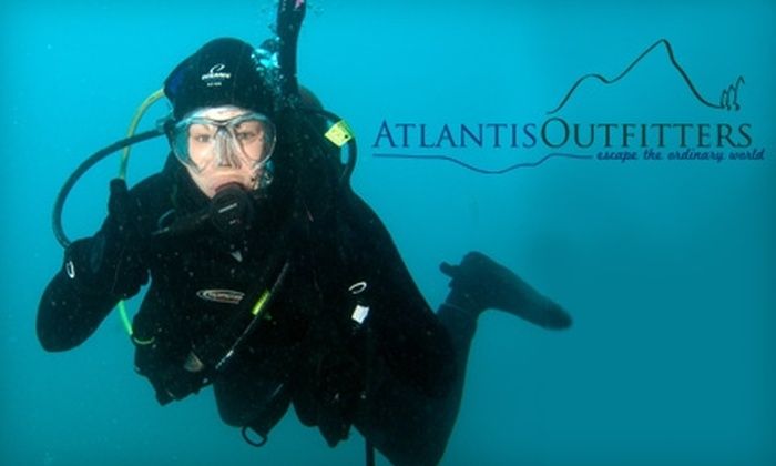 Atlantis Outfitters - Akron / Canton: $12 for a Discover Scuba Diving Class at Atlantis Outfitters in Uniontown ($25 Value)