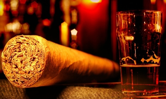 Central Cigars - Downtown St. Petersburg: $17 for $35 Worth of Cigars and Drinks at Central Cigars in St. Petersburg