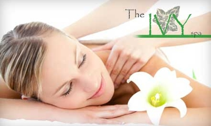 The Ivy Spa - North Greenbush: $35 for a One-Hour Massage ($70 Value) or $20 for a Half-Hour Express Facial ($40 Value) at The Ivy Spa